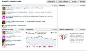 administración de facebook