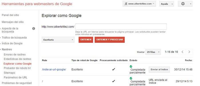 explorar como google
