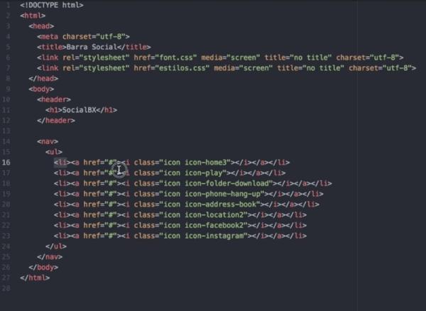 html sencillo