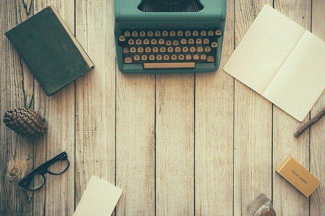 Máquina de escribir blogger